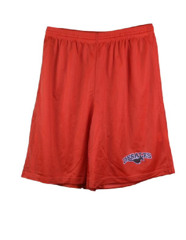 A4 Orange Mesh Shorts