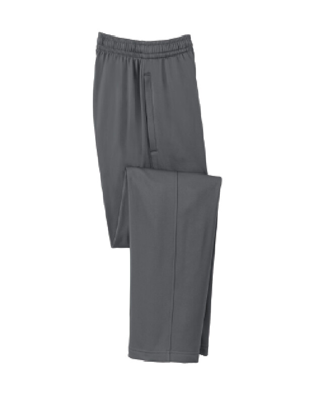 Fall Spiritwear Sports Tek Fleece Pants w/ Logo on left upper leg
