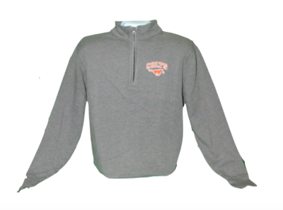 OttaTown Grey Uniform Zip-798