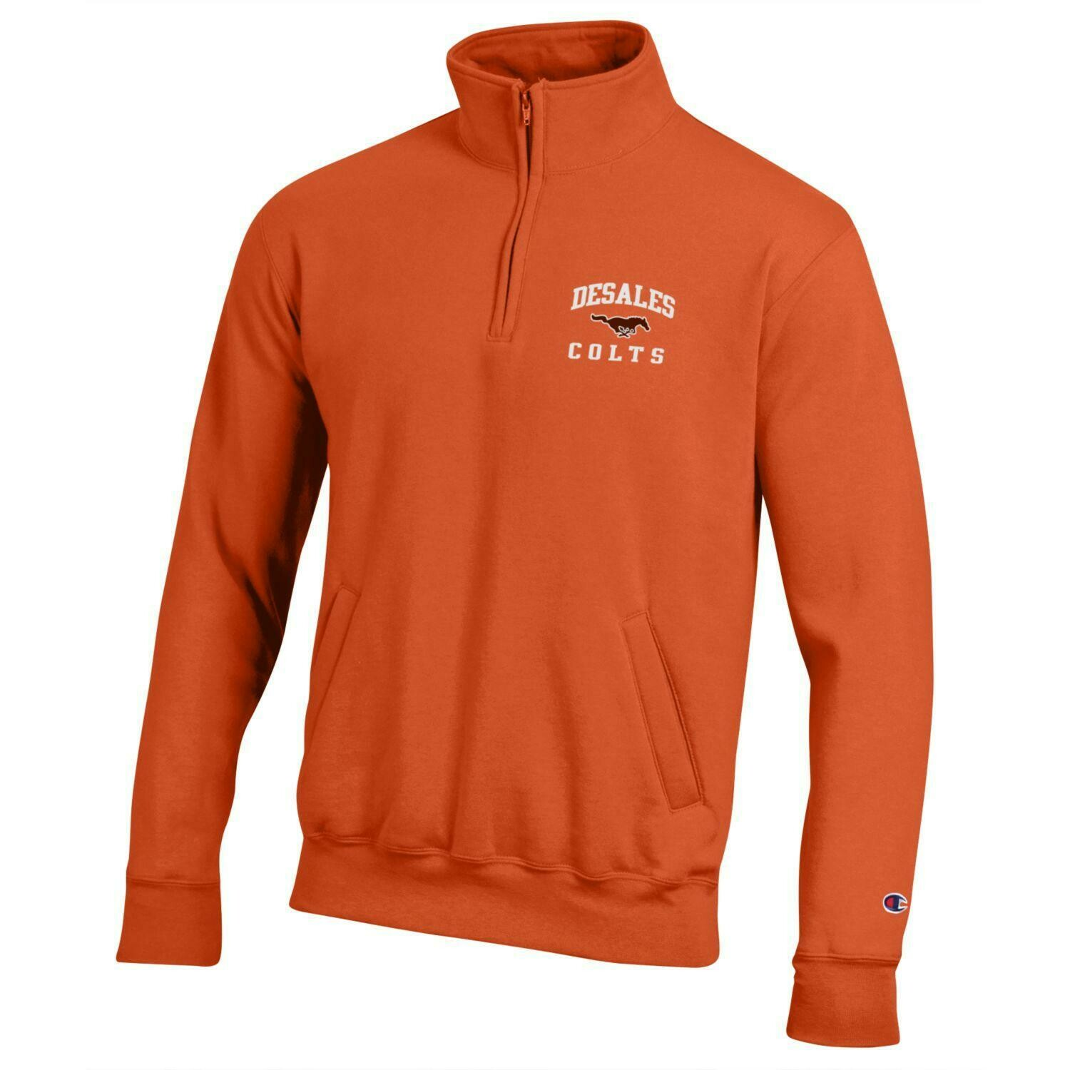 Powerblend Orange 1/4 Zip-601