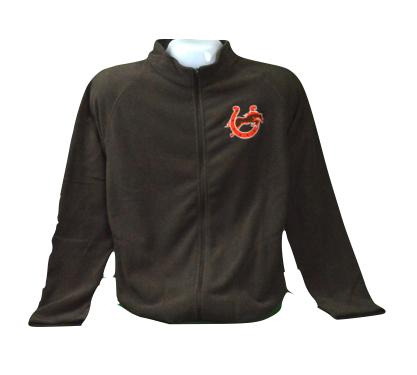 Brown Microfleece Jacket-773