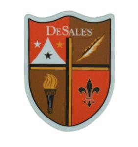 DeSales Crest Vinyl Stickers-762