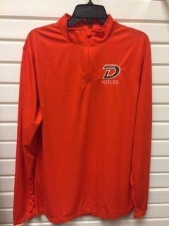Attain Orange 1/4 Zip-817