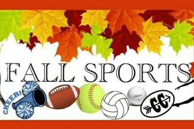 Fall Athletic Sports Fees-F20