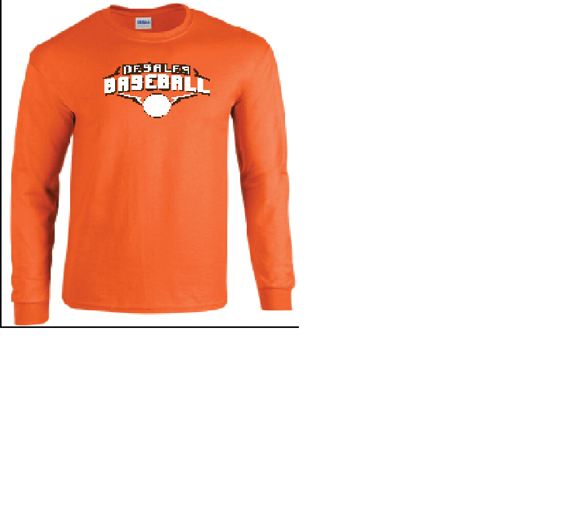 Spring Spiritwear Gildan Cotton Long Sleeve T-Shirt