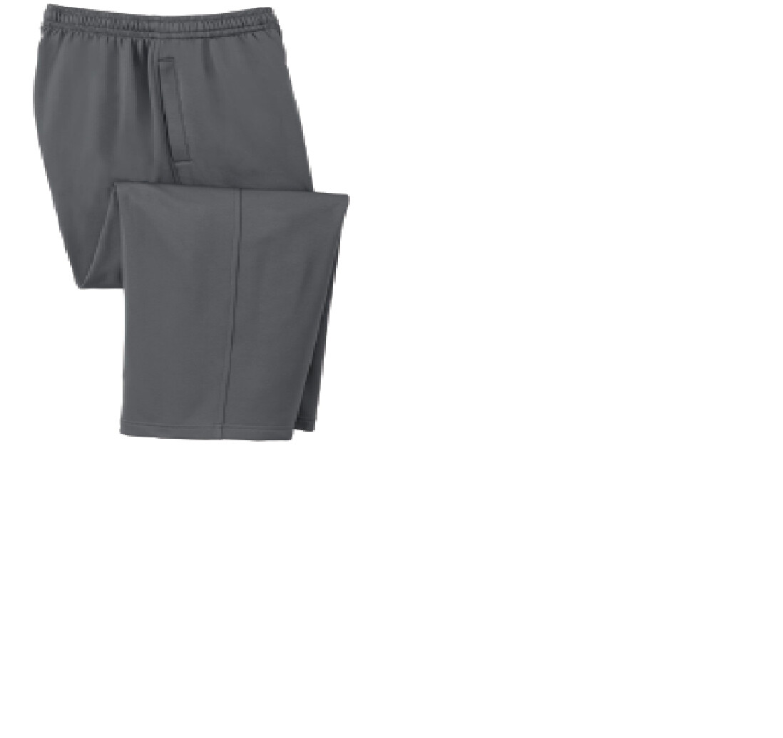 Spring Spiritwear Sports Tek Fleece Pants w/ Logo on left upper leg
