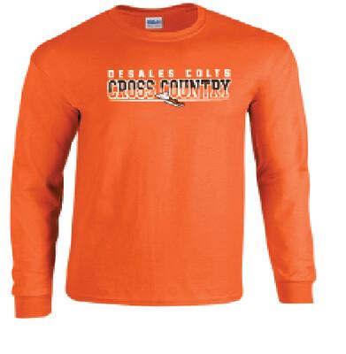 Fall Spiritwear Gildan Cotton Long Sleeve T-Shirt