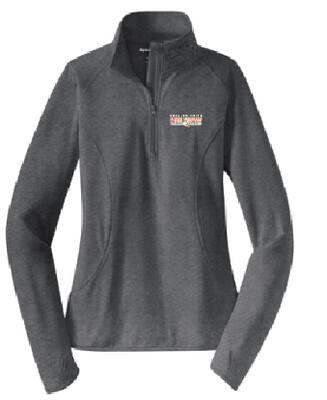 Fall Sports Ladies Sport-Tek Stretch 1/2 Zip Pullover