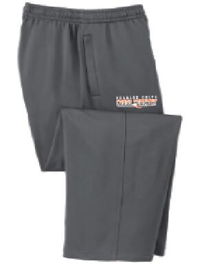 Fall Spiritwear Sports Tek Fleece Pants w/ Logo on left upper leg