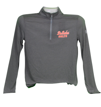 UA Steel Grey 1/4 Zip-653