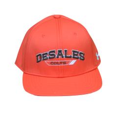 UA Flat bill Orange Hat-690