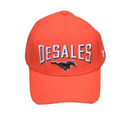UA Men's Stretch Orange Hat 687