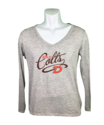 Ladies L/S Champion Tee-576