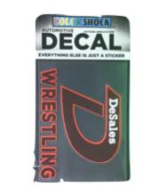 """D"" Wrestling Decal -617"