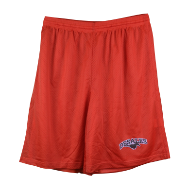 Youth Orange Mesh Short-646