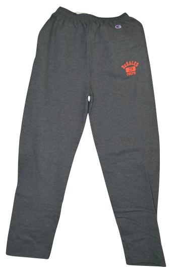 Open Leg Graphite Sweatpants-656