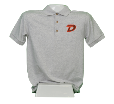 Grey Uniform Polo