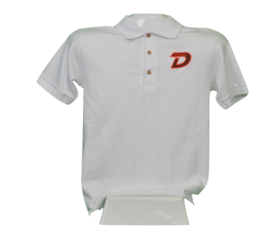 White Uniform Polo
