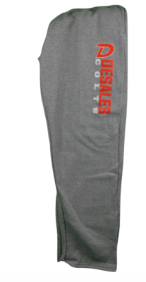 Open Leg Sweatpants-714