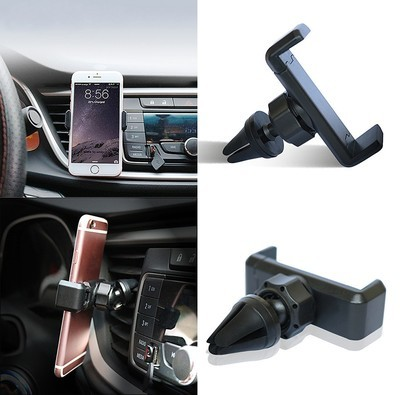 Black Air Vent Mount For Mobile Phone | GPS