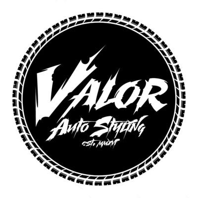 Valor Circle Decal 5x5