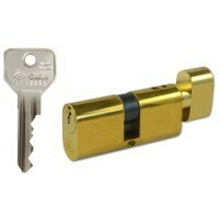 CISA G40D LARGE KEY AND TURN OVAL BRASS