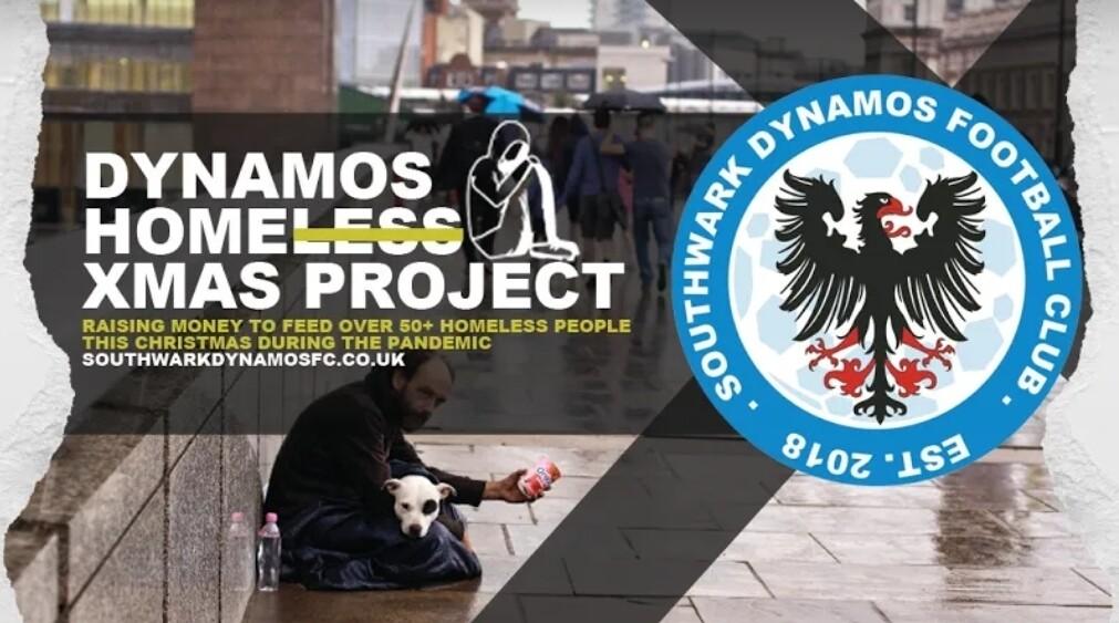 DYNAMOS HOMELESS XMAS PROJECT - £15 DONATION
