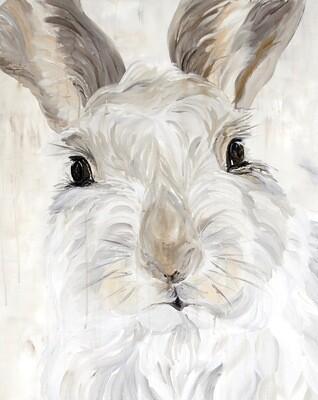 """""""Snow Bunny"""" - Garden Life Series"""