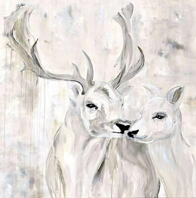 """Fallow Deer"" - Pacific Northwest Series"
