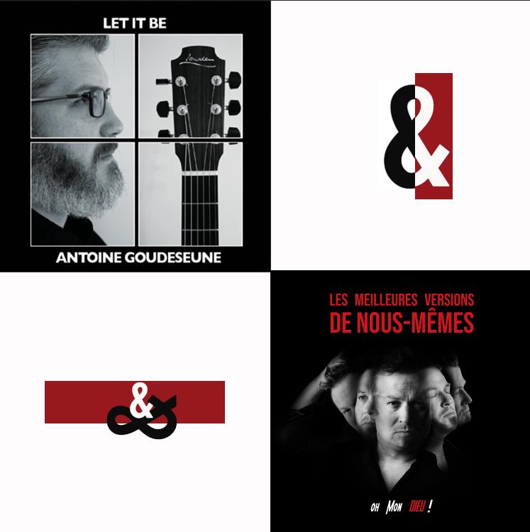PACK 2 CDS - Oh mon Dieu & Antoine Goudeseune