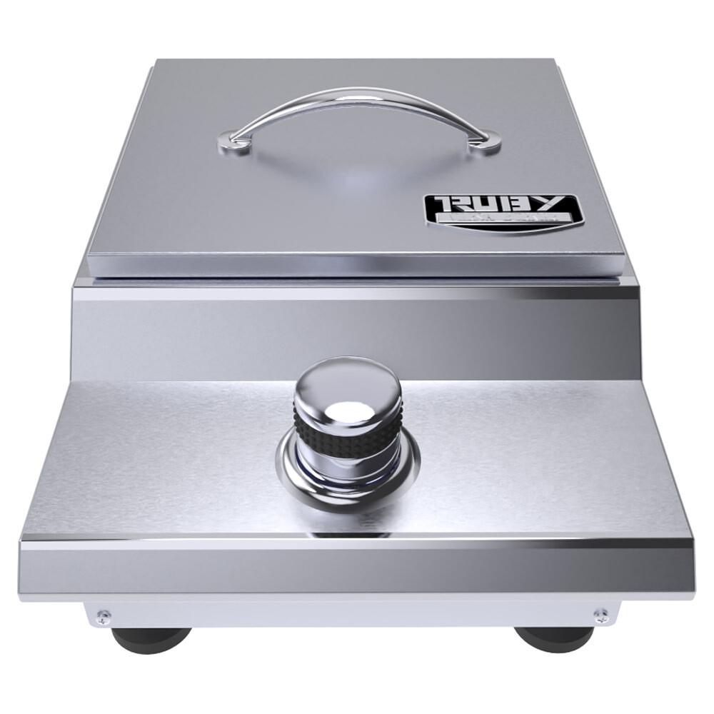 Ruby Series Counter-top or Drop-in Versa Single Burner - Item No. SUN13VSB