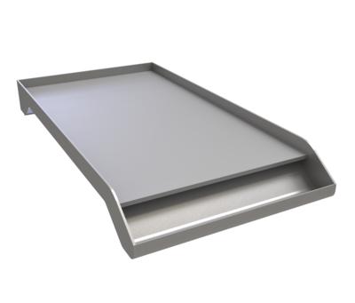 Solid Steel Powder Coated Griddle