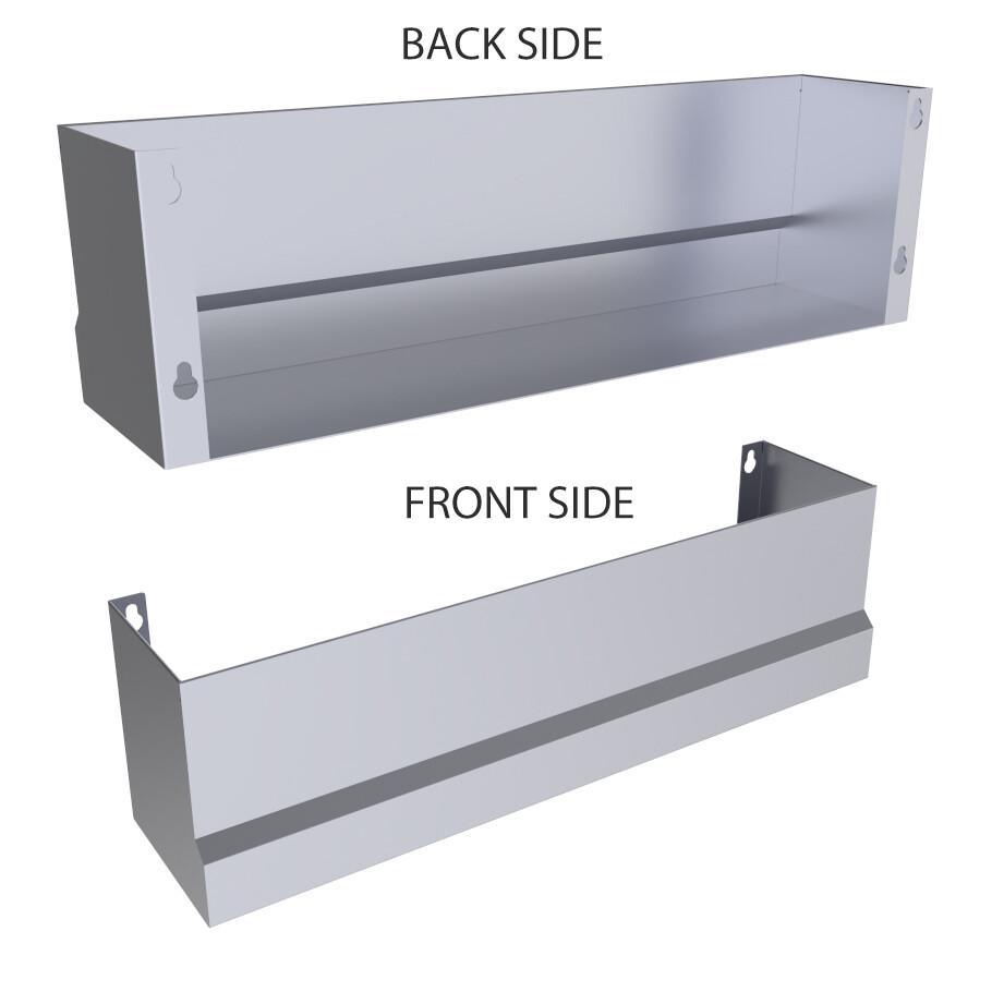 Heavy-Duty Speed Rail Pocket Shelf