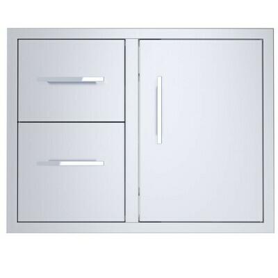 """Signature Series 30"""" Double Drawer Door Combo -BA-DDC30"""
