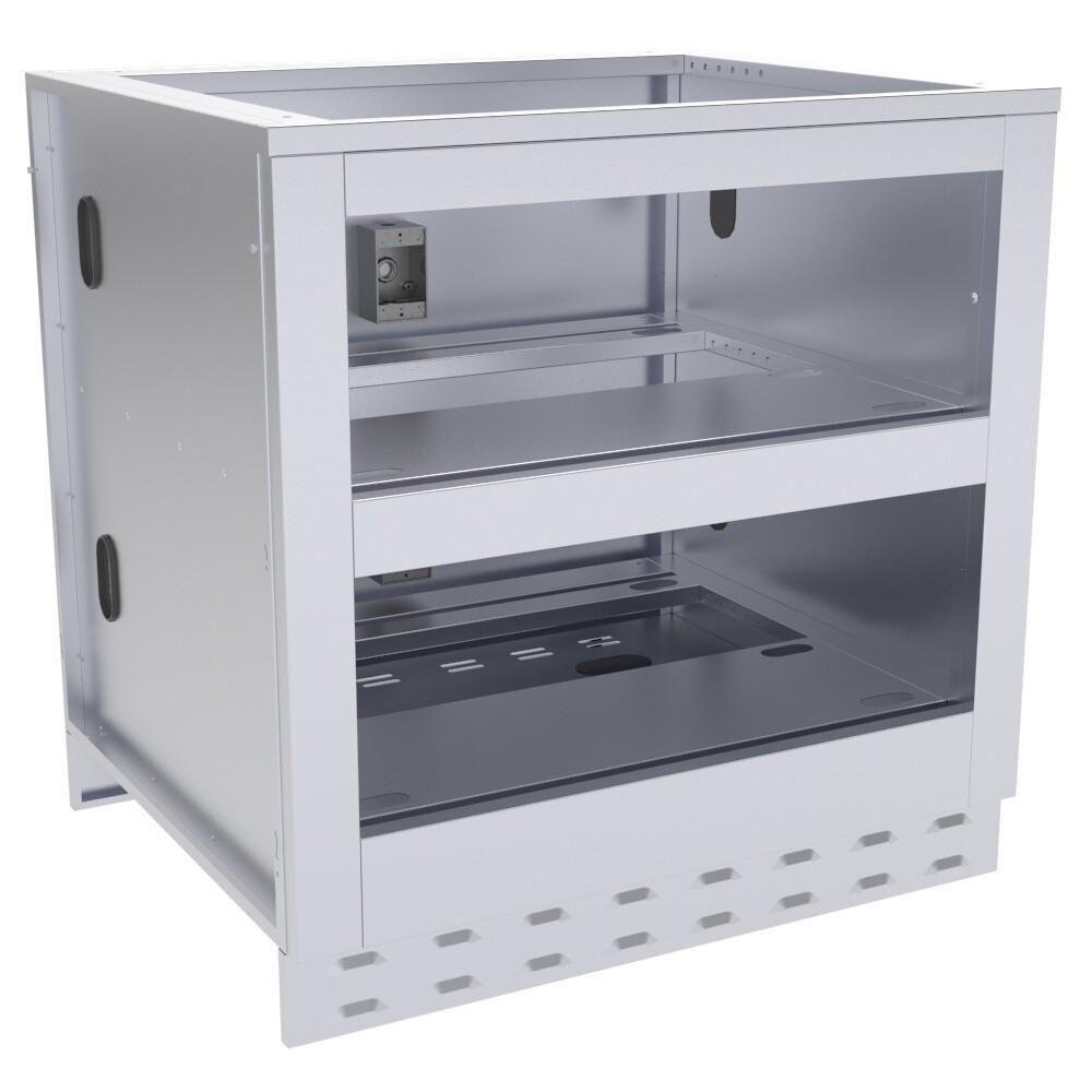 "34"" Sunstone Double Warming Drawer Cabinet - Item No SAC34DWC"