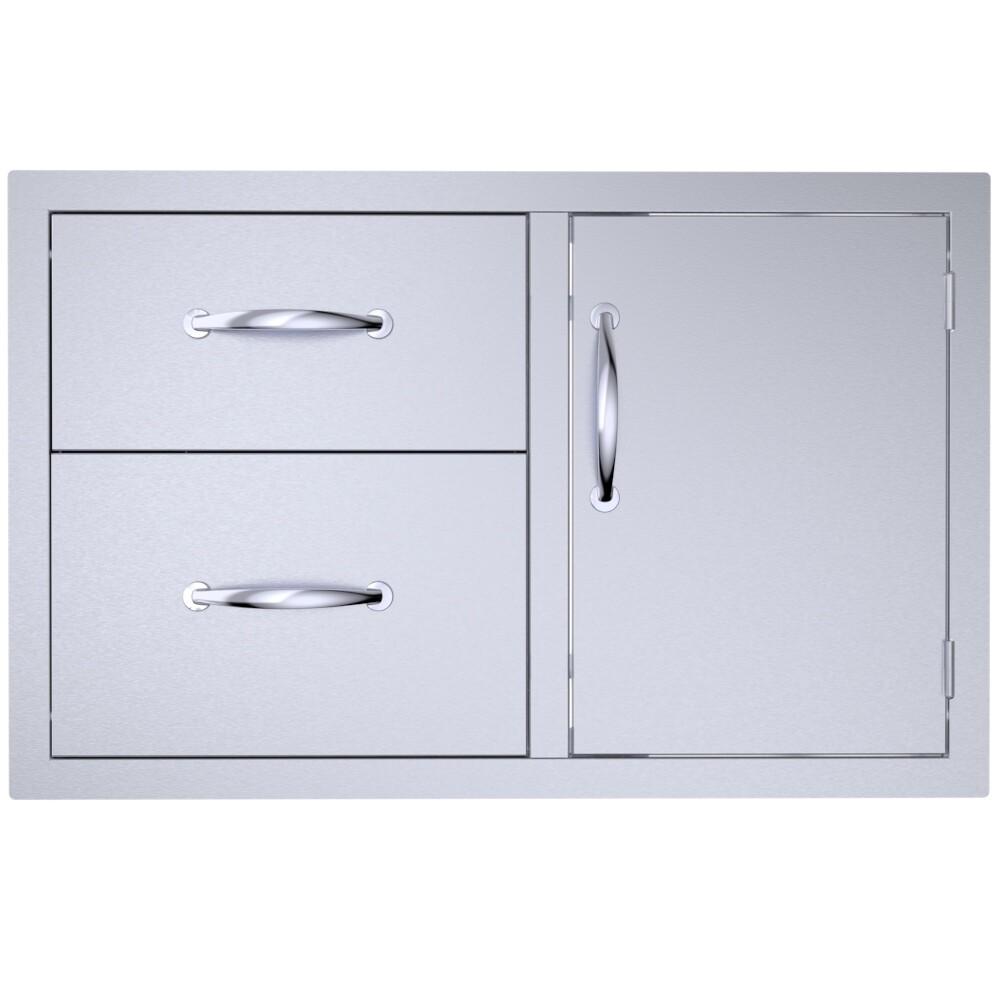 """Classic Series 36"""" Double Drawer Door Combo - C-DDC36"""