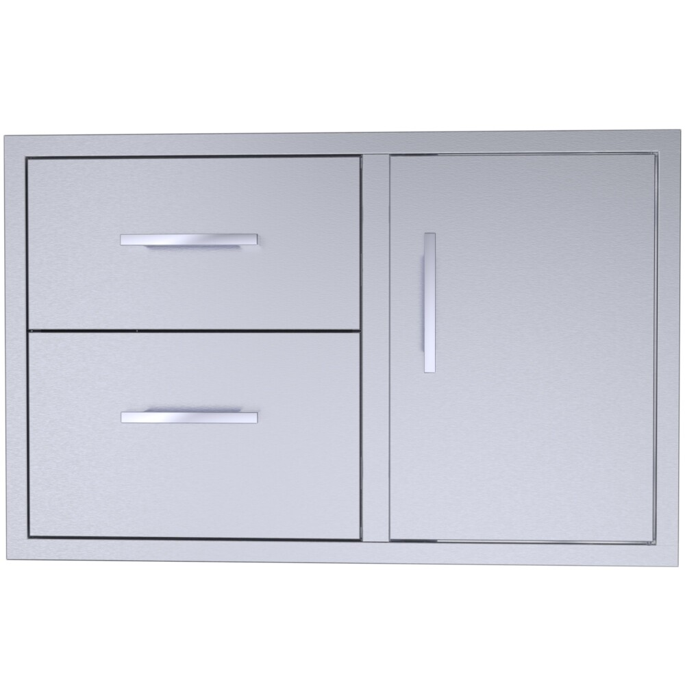 """Signature Series 36"""" Double Drawer Door Combo -BA-DDC36"""