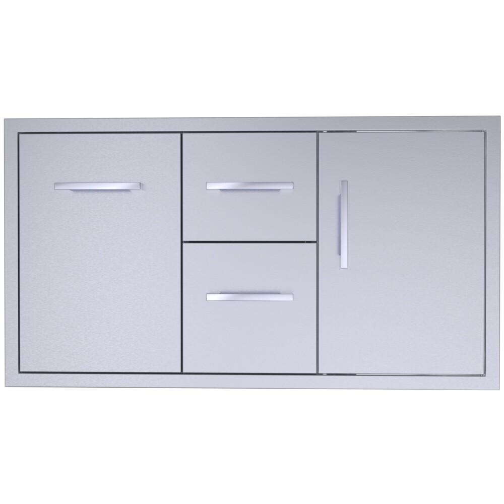 """Signature Series 42"""" Double Drawer Door Combo -BA-DDC42"""