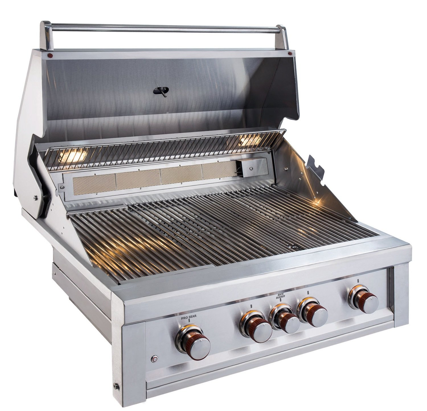 "Ruby 4 Burner Pro-Sear 36"" w/IR - Item No. RUBY4BIR"