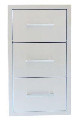 "Signature Series 17""Beveled Frame Paper Towel Drawer Combo - Item No. BA-DPCF17"