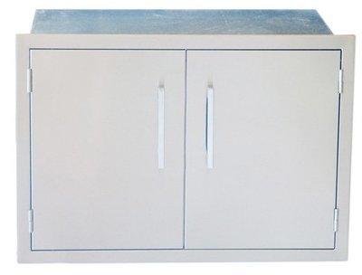"Signature Series 30"" Beveled Frame Weather Sealed Dry Storage Pantry - Item No. BA-DSH30"