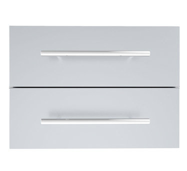 "Designer Series 13""Height Multi-Configurable Double Drawer w/Self-Leveling Legs - Item No. DE-DD13"