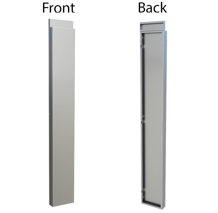 """6"""" Spacer Panel for Full Height Wall Cabinet Front  - Item No. SWC6SPF"""