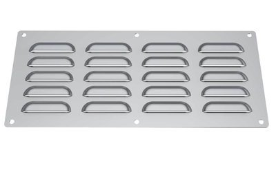 "15"" x 6-1/2"" 304 Stainless Steel Vent"