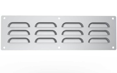 """15"""" x 4-1/2"""" 304 Stainless Steel Vent"""