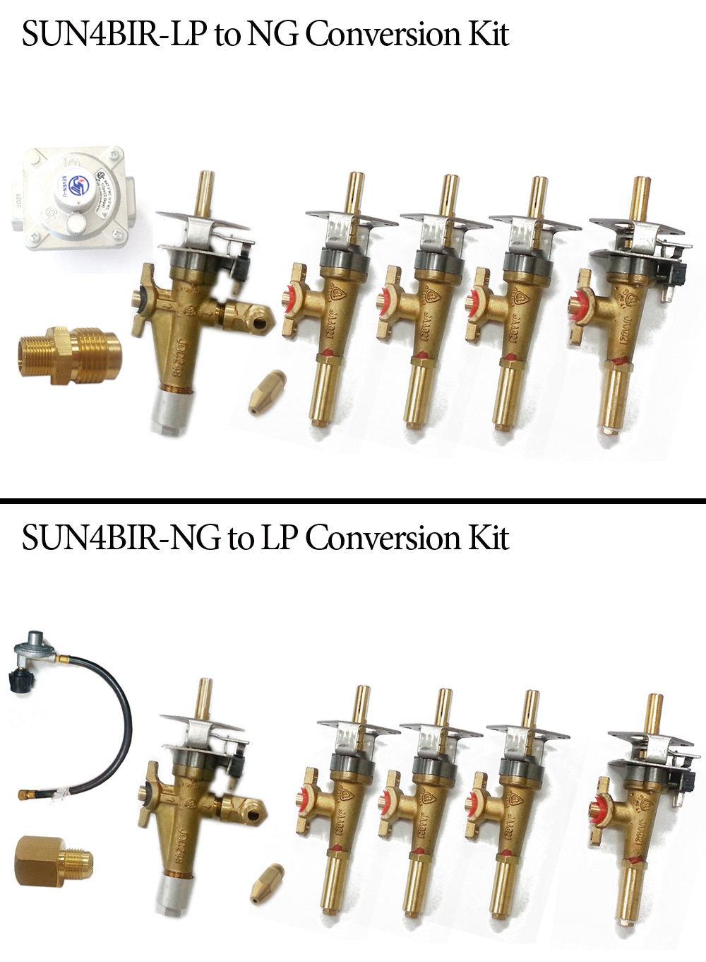 "Conversion Kit for Sun4B-34""Grill w/IR"