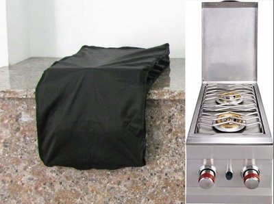 Waterproof cover for Slide Out Double Burner -Size:15