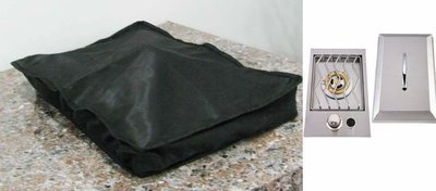 Waterproof cover for Slide Out Drop in Single Burner- Size:12-5/8