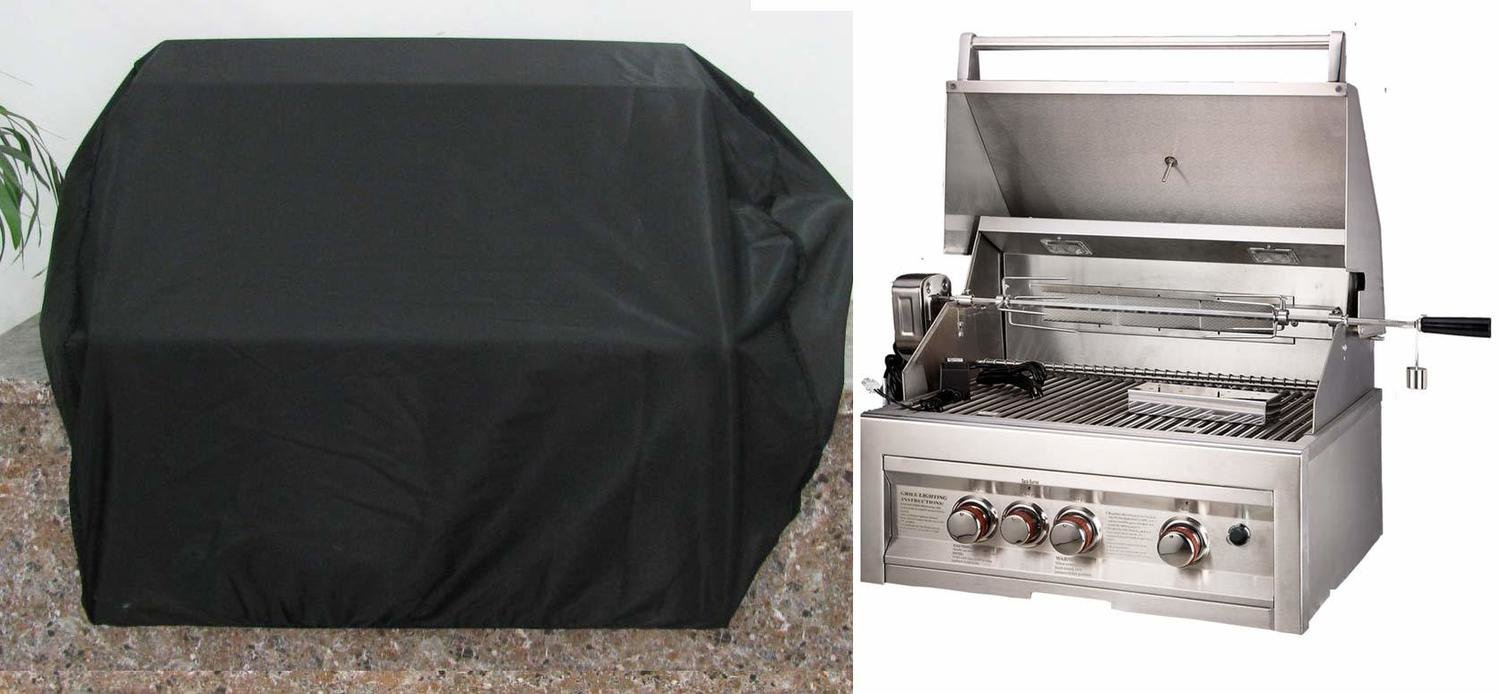 "Waterproof Grill Cover for 28"" to 36"" Drop in Grills"