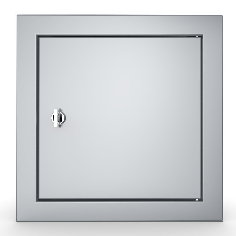 "Signature Series Beveled Style 12"" x 12"" Utility Access Door - Item No. BA-SD12"